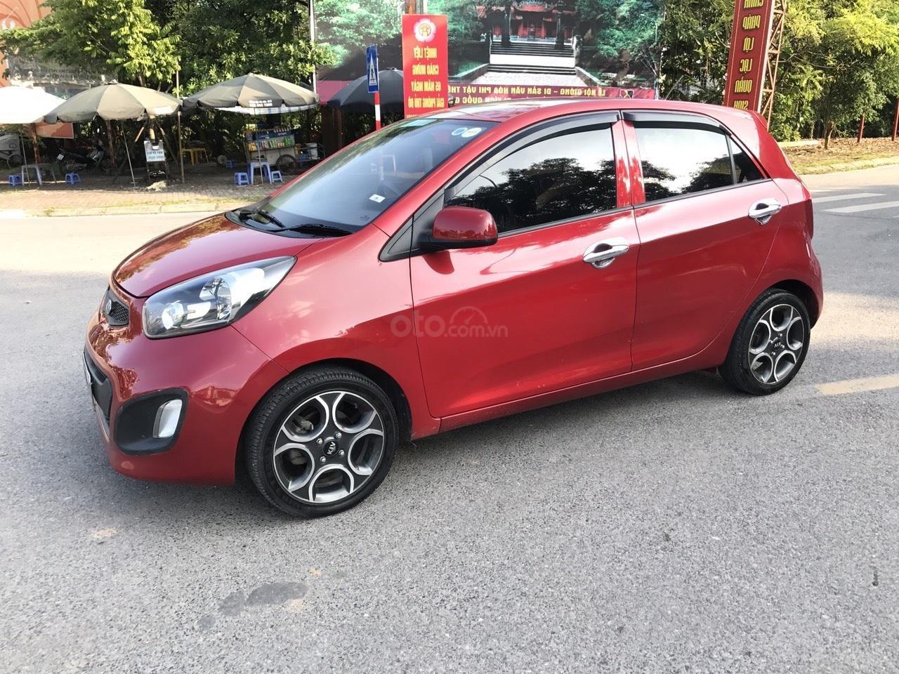 Bán Kia Morning 1.0MT Sport đời 2011, màu đỏ, nhập khẩu, xe cực chất lượng (2)