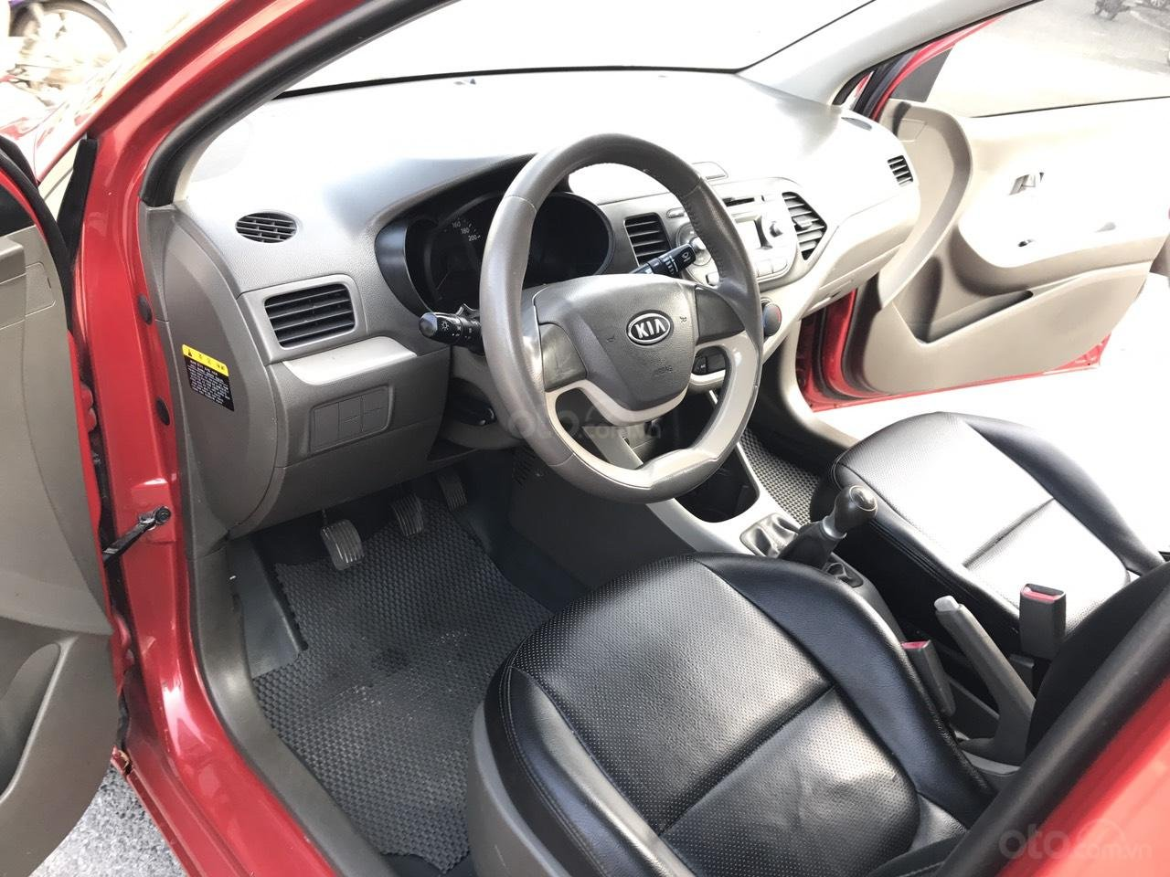 Bán Kia Morning 1.0MT Sport đời 2011, màu đỏ, nhập khẩu, xe cực chất lượng (4)