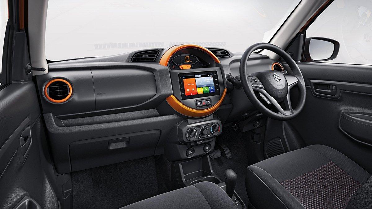Nội thất xe Suzuki S-Presso 2020