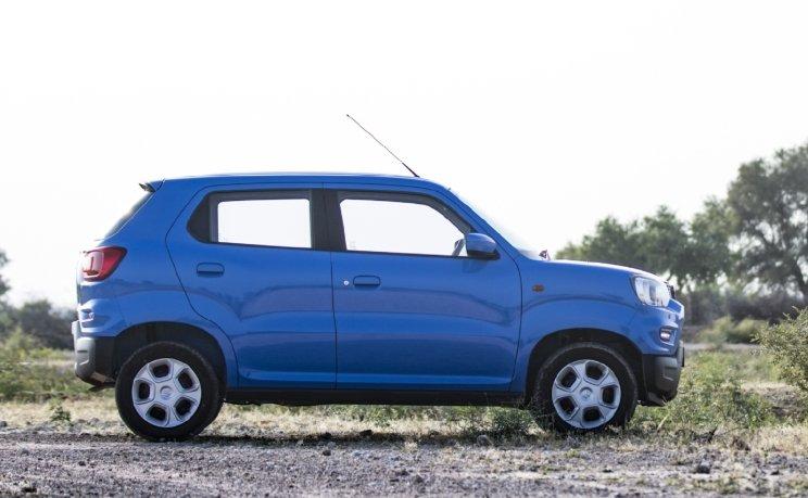 Thân xe Suzuki S-Presso 2020