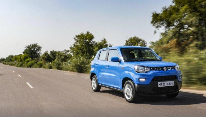 Đánh giá Suzuki S-Presso về cảm giác lái.