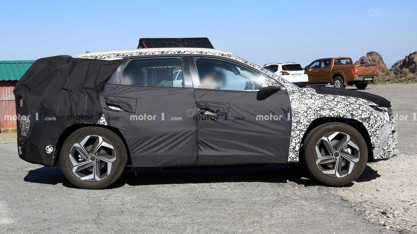 Hyundai Tucson 2021 bản quốc tế vẫn còn nhiều bí ẩn