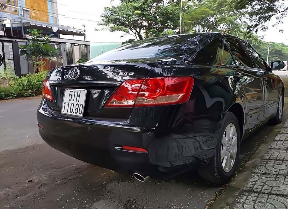 Cần bán Toyota Camry 2.4G đời 2008, màu đen, xe gia đình (2)
