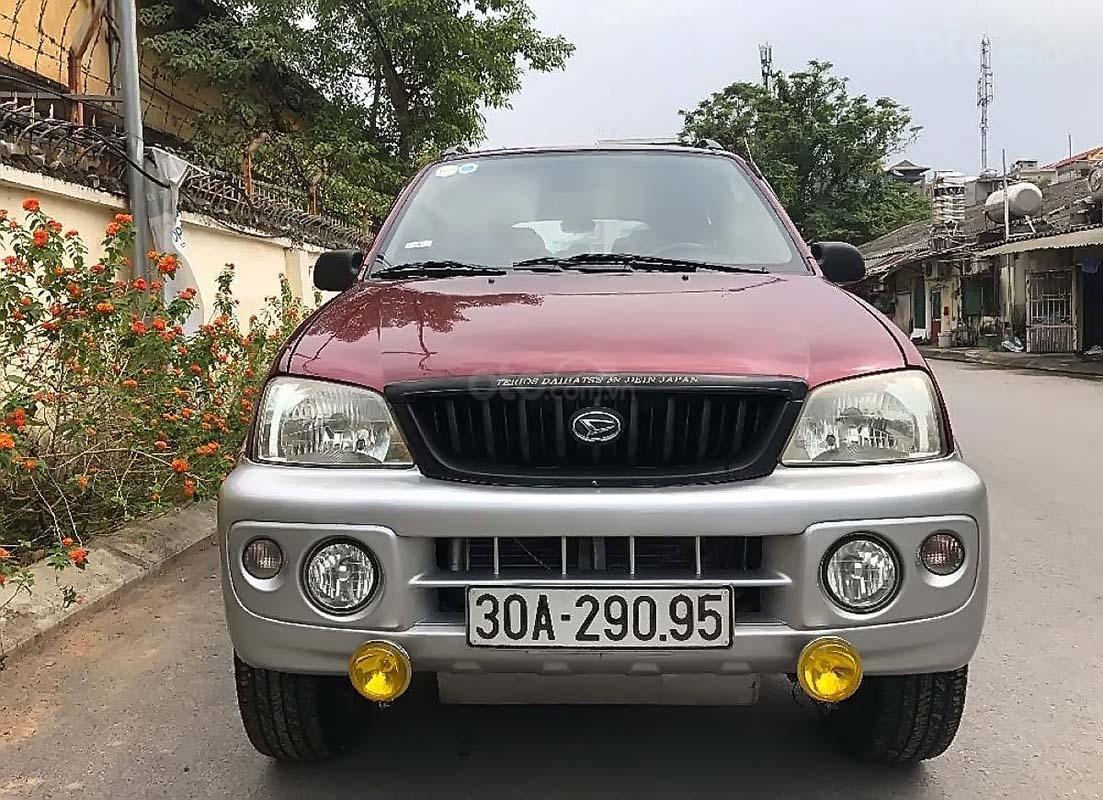 Bán Daihatsu Terios 4x4 MT 2004, màu đỏ, nhập khẩu, số sàn  (1)
