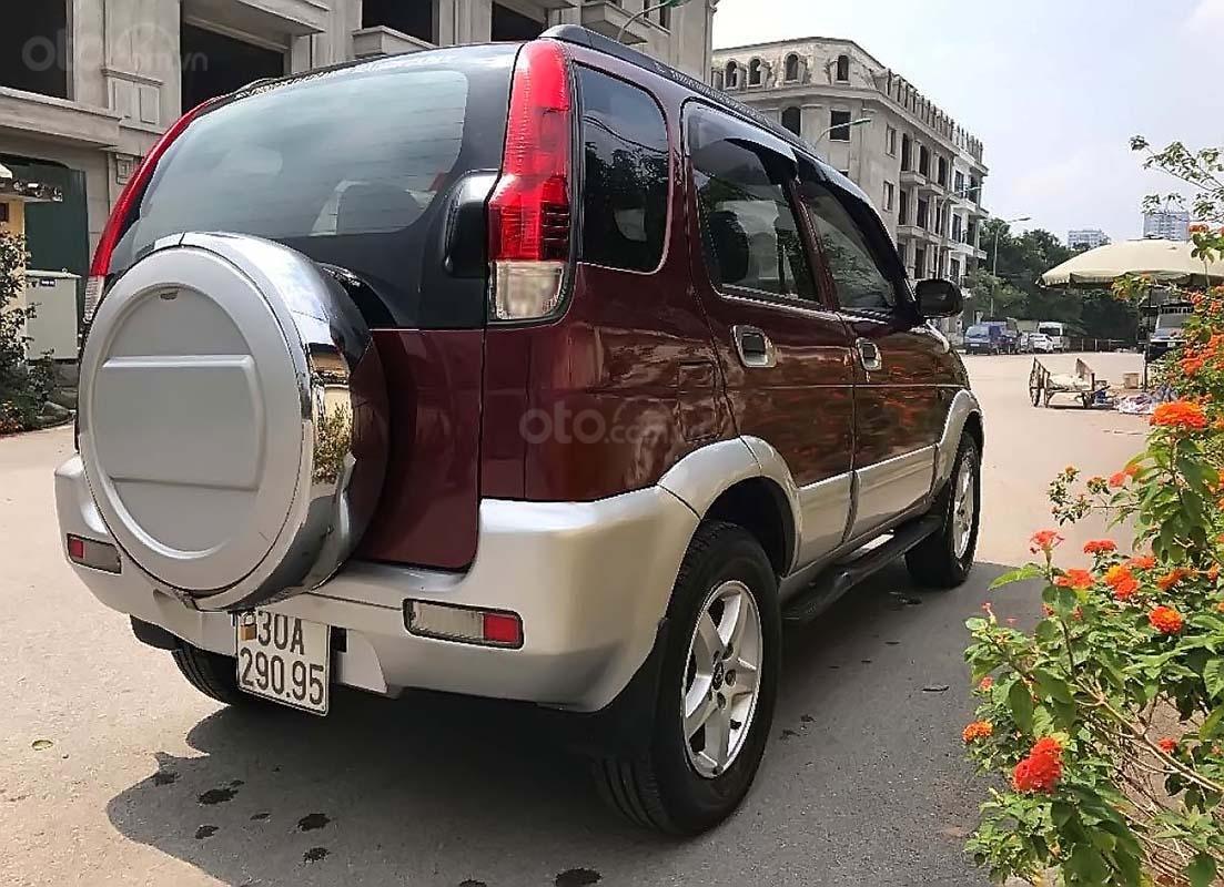 Bán Daihatsu Terios 4x4 MT 2004, màu đỏ, nhập khẩu, số sàn  (4)