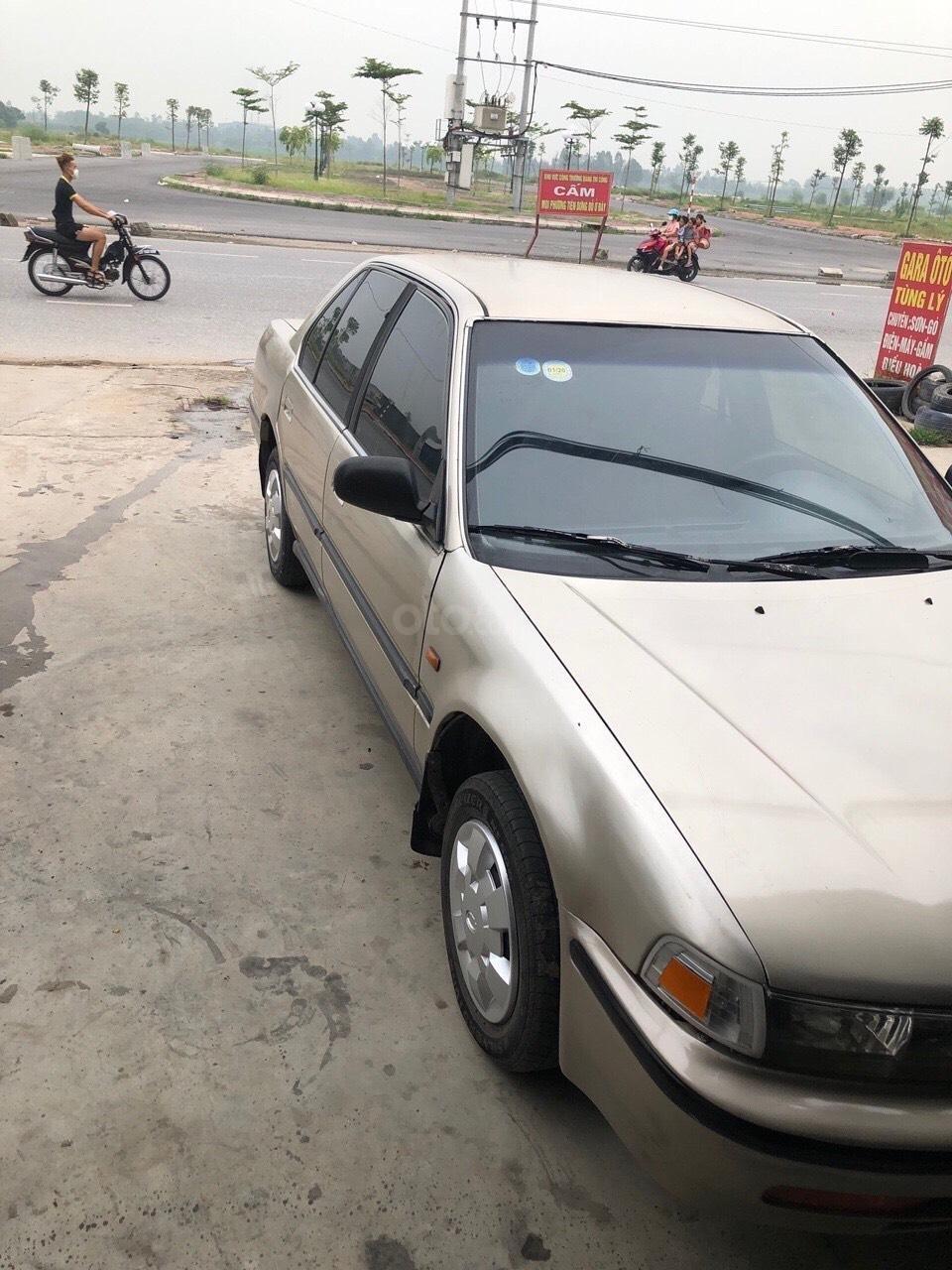 Bán xe Honda Accord LX sản xuất 1988, màu kem (be), nhập khẩu (2)