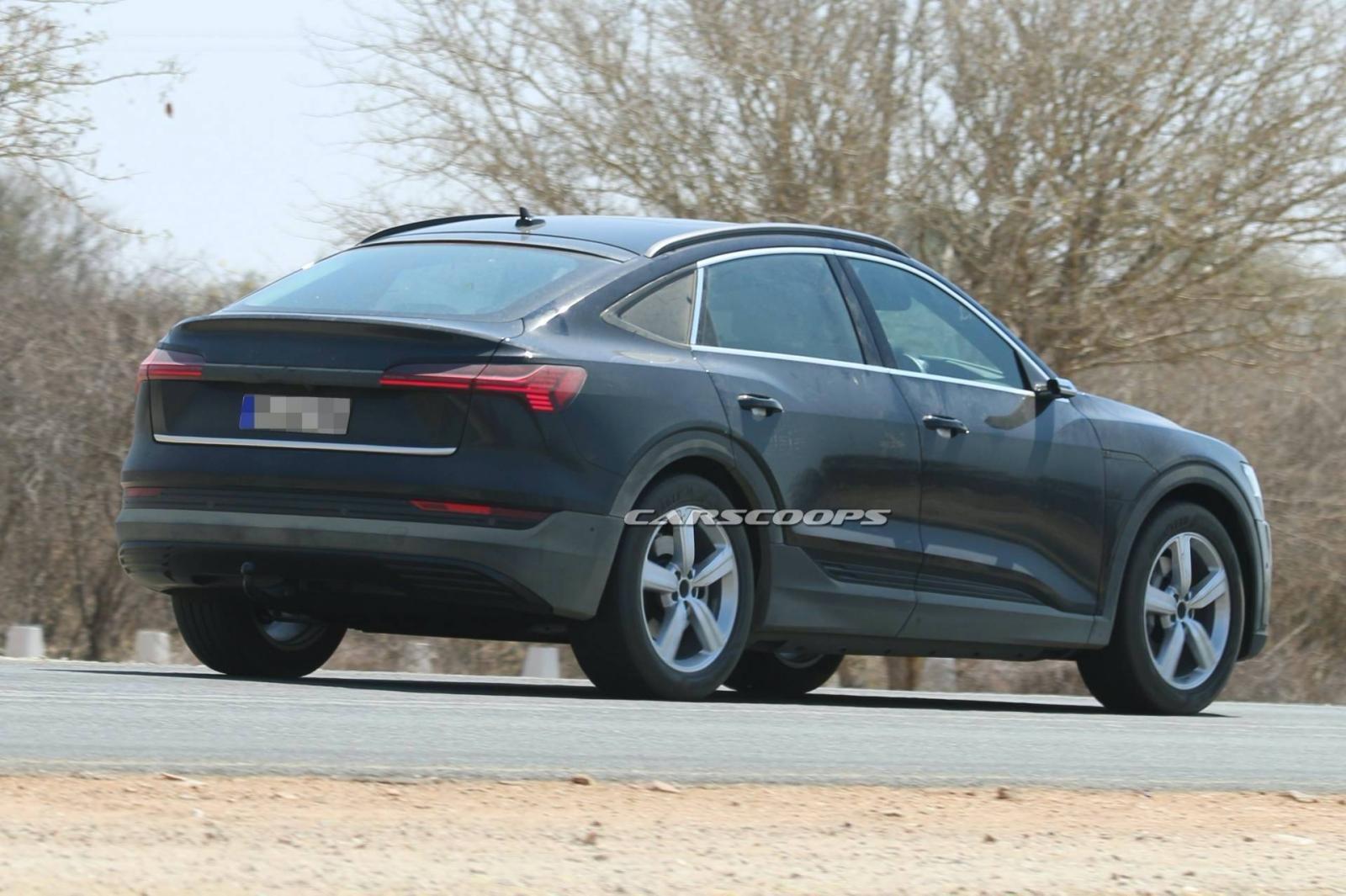 Audi e-tron Sportback 2020 sẽ ra mắt tại Triển lãm Ô tô Los Angeles vào 19/11.