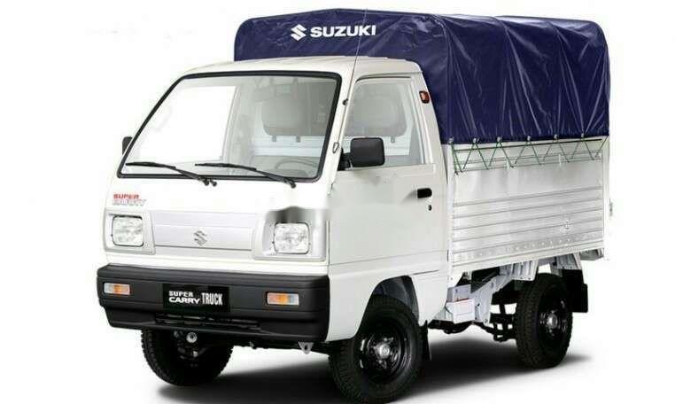 Bán Suzuki Super Carry Truck 2004, màu trắng, xe nhập (1)