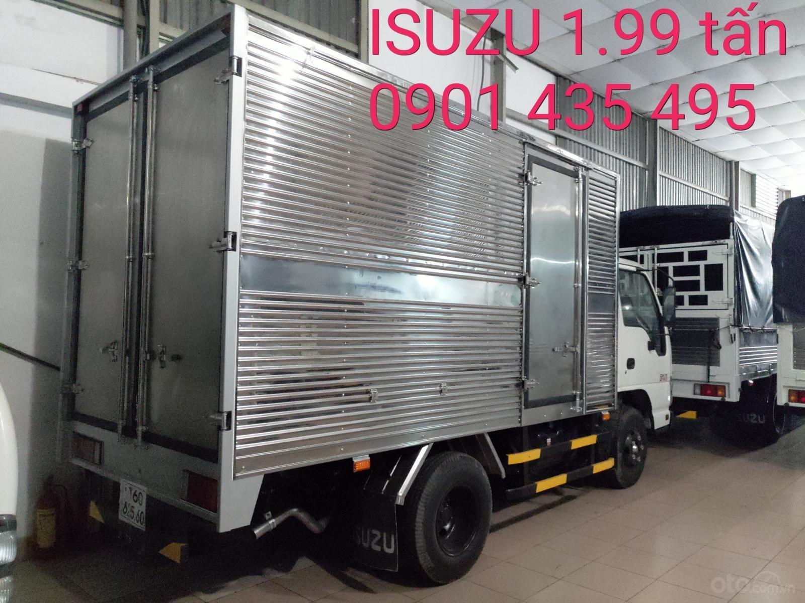 Isuzu 1.99 tấn, KM: 9.4tr tiền mặt, máy lạnh, 12 phiếu bảo dưỡng, radio MP3 (2)