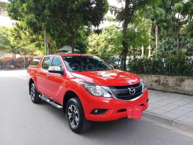 Ô tô Thủ Đô bán xe Mazda BT50 2.2AT SX 2016, màu đỏ, 509 triệu (1)