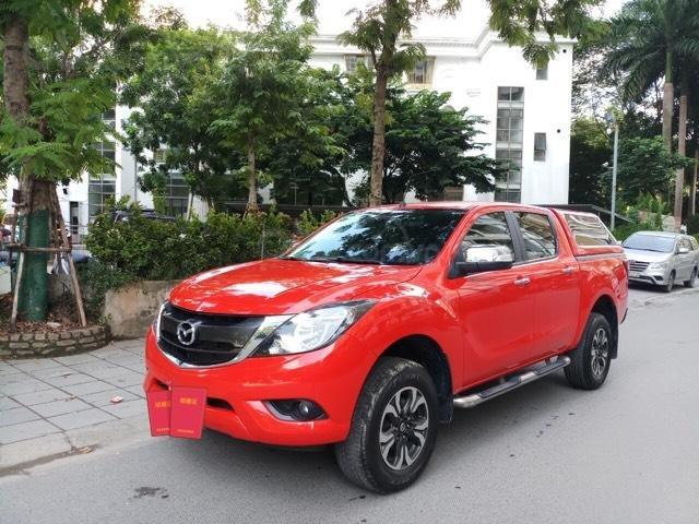 Ô tô Thủ Đô bán xe Mazda BT50 2.2AT SX 2016, màu đỏ, 509 triệu (2)