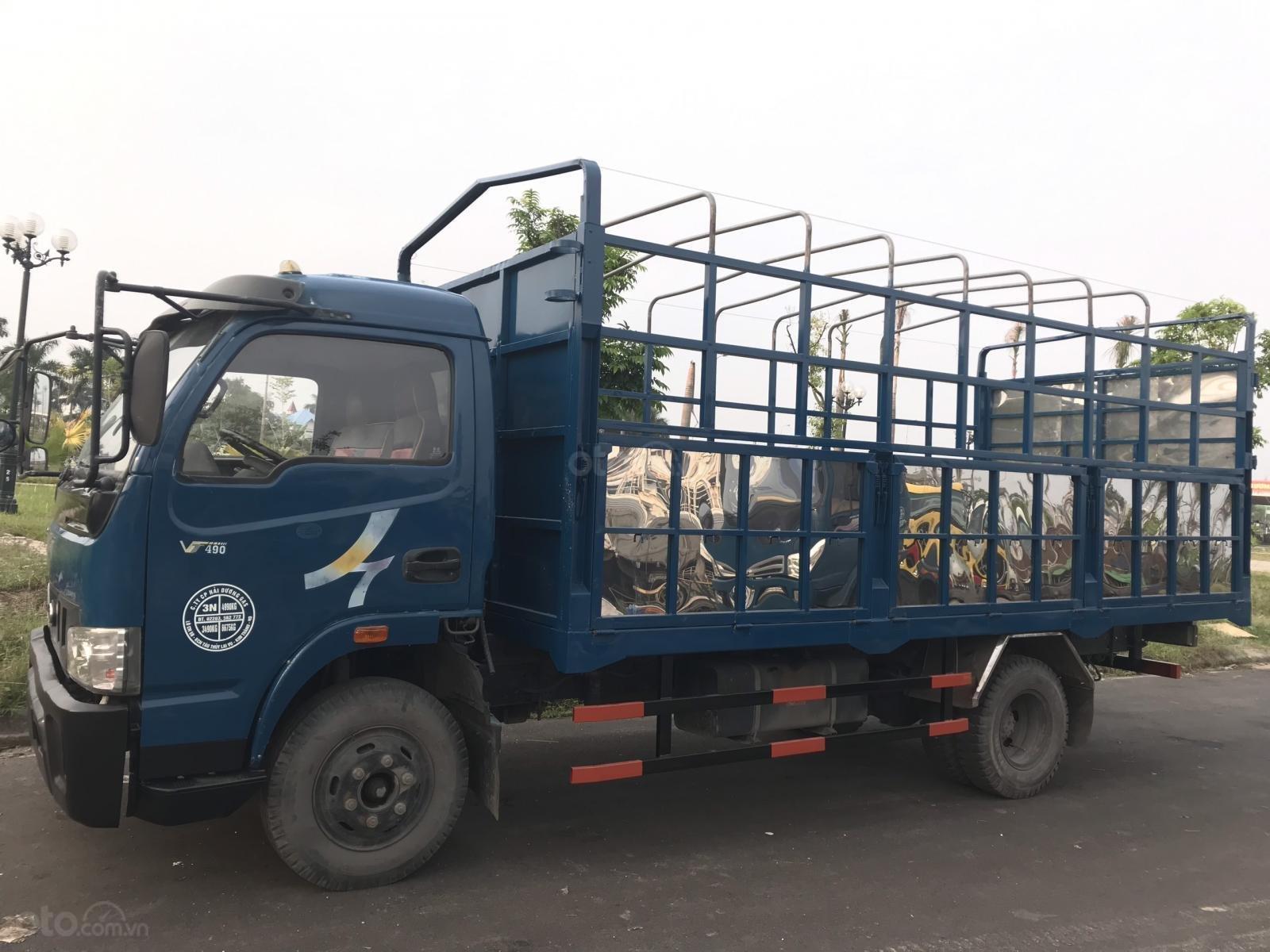 Bán xe Veam 5 tấn đã qua sử dụng máy Hyundai thùng dài 5,1m xe nguyên zin, lốp đẹp (1)