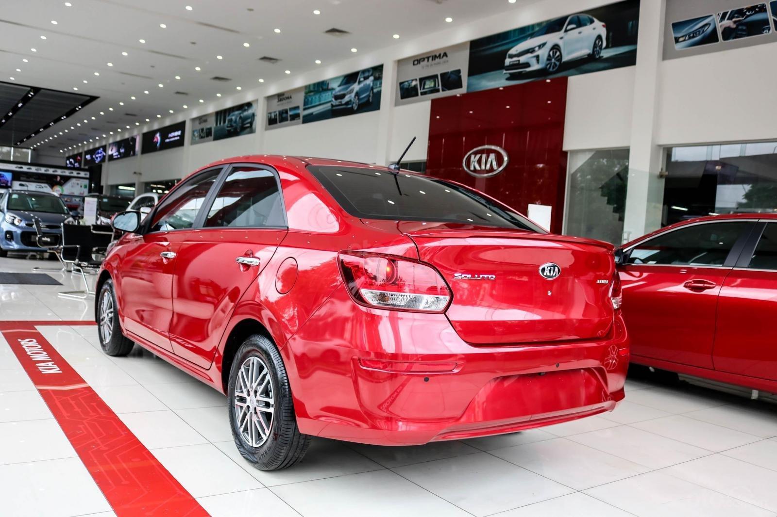Bán xe Kia Soluto AT 2019, màu đỏ (2)