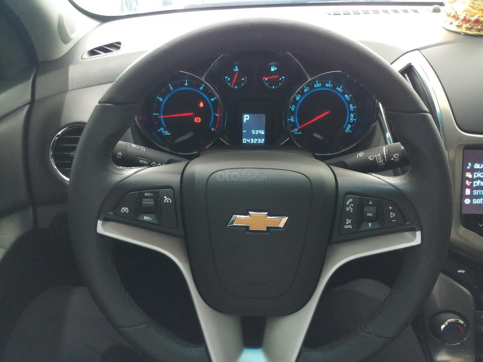 Bán Chevrolet Cruze LTZ 1.8L đời 2017, màu đen, 490tr TL (11)
