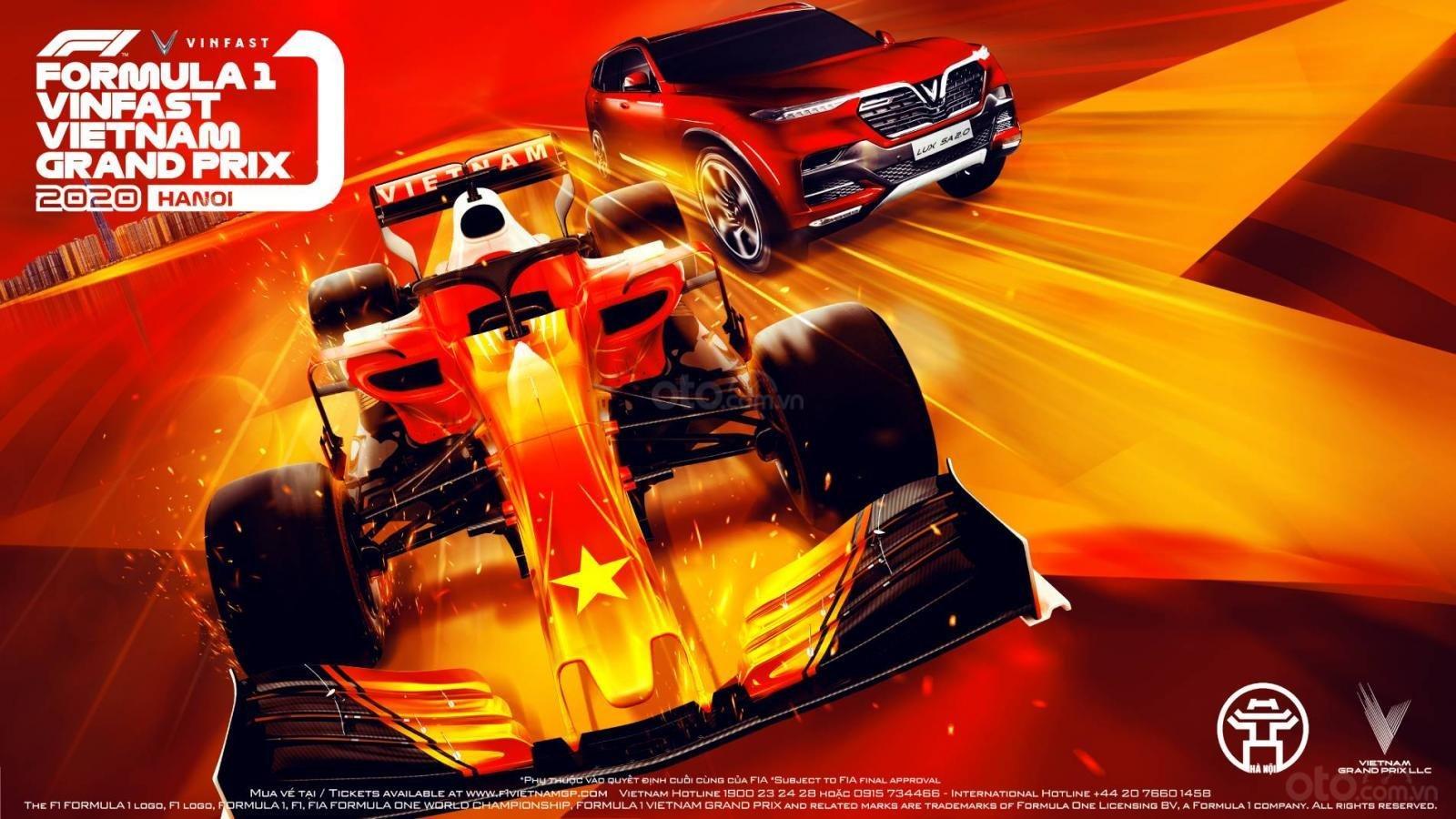 chặng đua Formula 1 VinFast Vietnam Grand Prix.