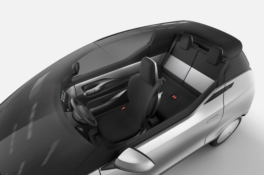 Uniti One: chiếc xe điện nhỏ muốn tạo sự khác biệt lớn.