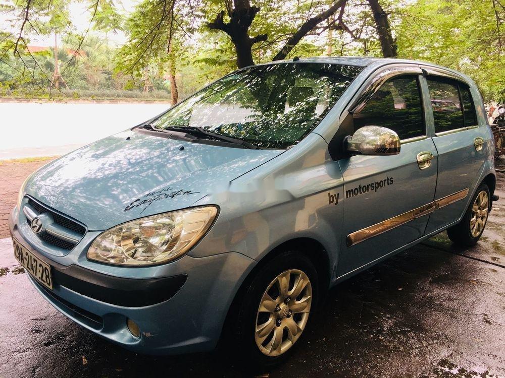 Cần bán lại xe Hyundai Getz 2008, màu xanh lam, xe nhập chính chủ giá cạnh tranh (8)