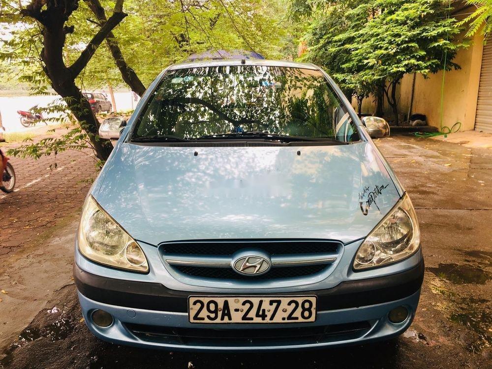 Cần bán lại xe Hyundai Getz 2008, màu xanh lam, xe nhập chính chủ giá cạnh tranh (7)