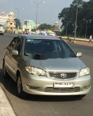 Cần bán gấp Toyota Vios 1.5 G năm 2005, màu bạc, giá tốt (7)
