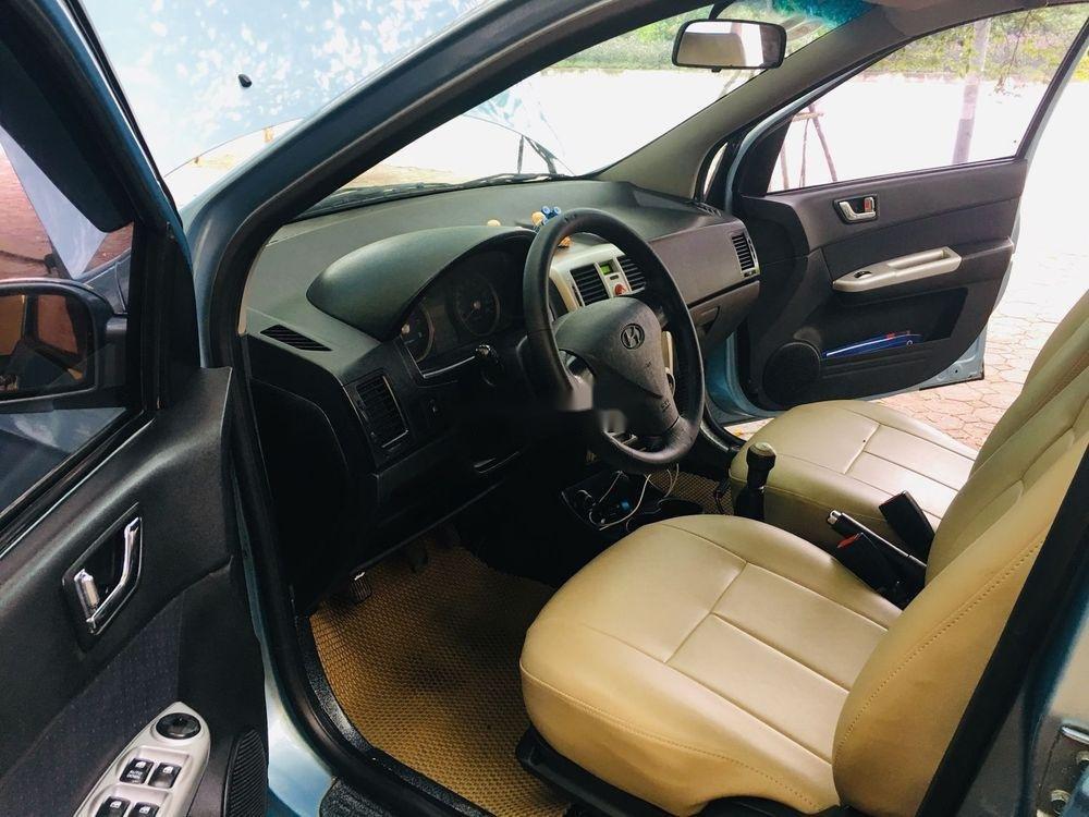 Cần bán lại xe Hyundai Getz 2008, màu xanh lam, xe nhập chính chủ giá cạnh tranh (4)