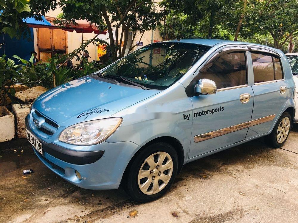 Cần bán lại xe Hyundai Getz 2008, màu xanh lam, xe nhập chính chủ giá cạnh tranh (1)