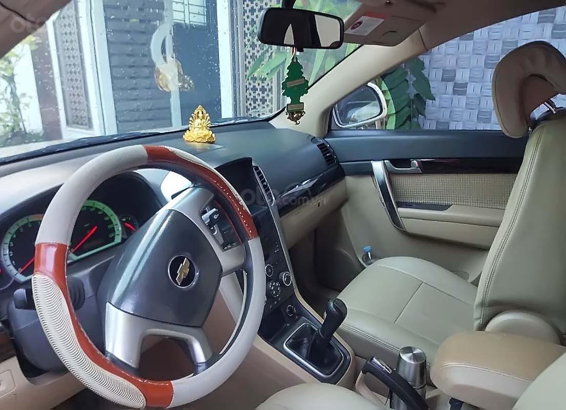 Cần bán Chevrolet Captiva năm sản xuất 2009, màu vàng, giá 350tr (3)