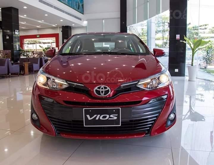 Toyota Bình Tân bán Vios 2019, trả trước 150 triệu, có xe giao ngay, KM T10, LH 0916053652 (1)