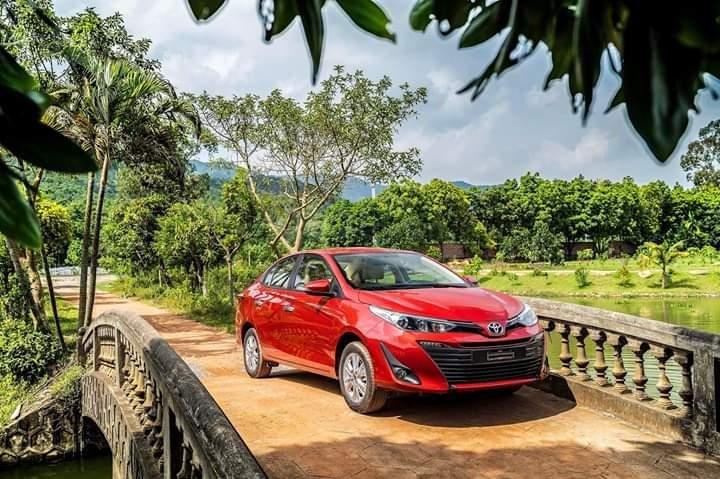 Toyota Bình Tân bán Vios 2019, trả trước 150 triệu, có xe giao ngay, KM T10, LH 0916053652 (6)