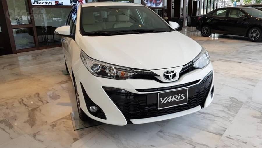 Bán Toyota Yaris 1.5G CVT 2019 nhập khẩu giá thấp nhất + khuyến mãi gói phụ kiện, LH 0941115585 (1)