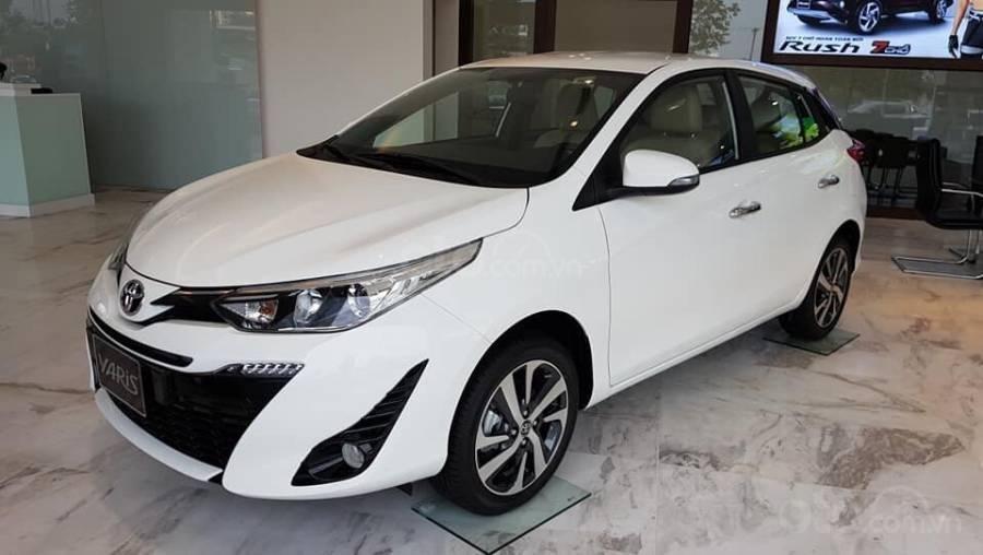 Bán Toyota Yaris 1.5G CVT 2019 nhập khẩu giá thấp nhất + khuyến mãi gói phụ kiện, LH 0941115585 (2)