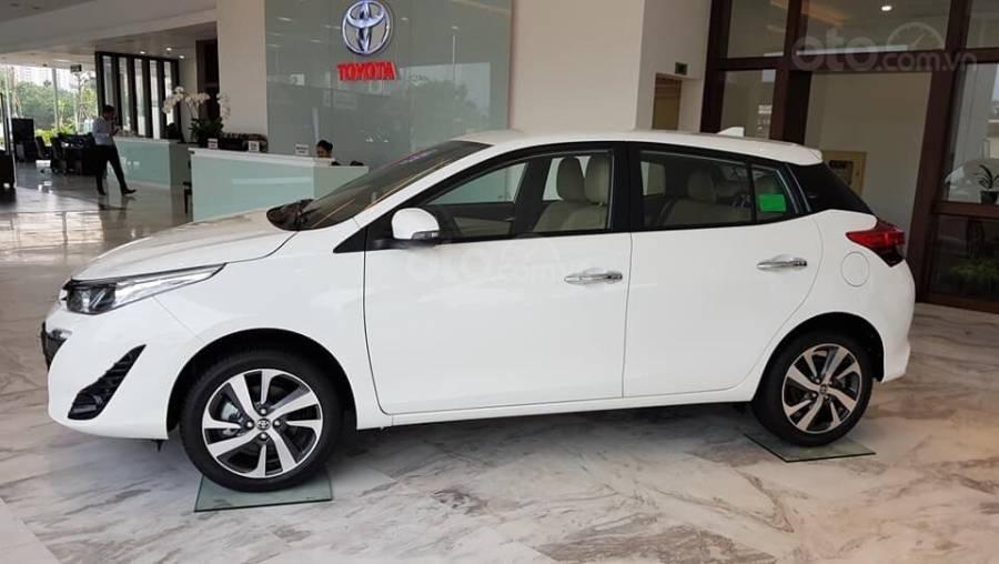 Bán Toyota Yaris 1.5G CVT 2019 nhập khẩu giá thấp nhất + khuyến mãi gói phụ kiện, LH 0941115585 (3)