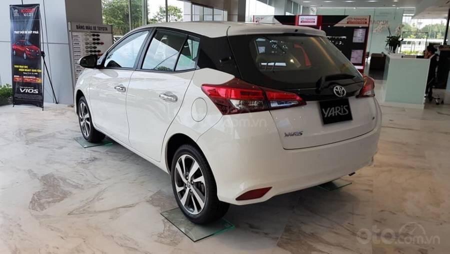 Bán Toyota Yaris 1.5G CVT 2019 nhập khẩu giá thấp nhất + khuyến mãi gói phụ kiện, LH 0941115585 (4)
