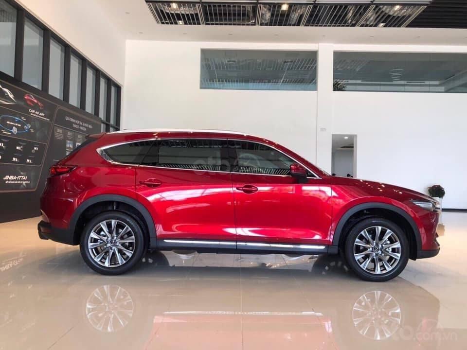 Mazda CX8 2.5 Luxury màu đỏ, sản xuất và đăng ký tháng 09/2019, biển Hà Nội (6)