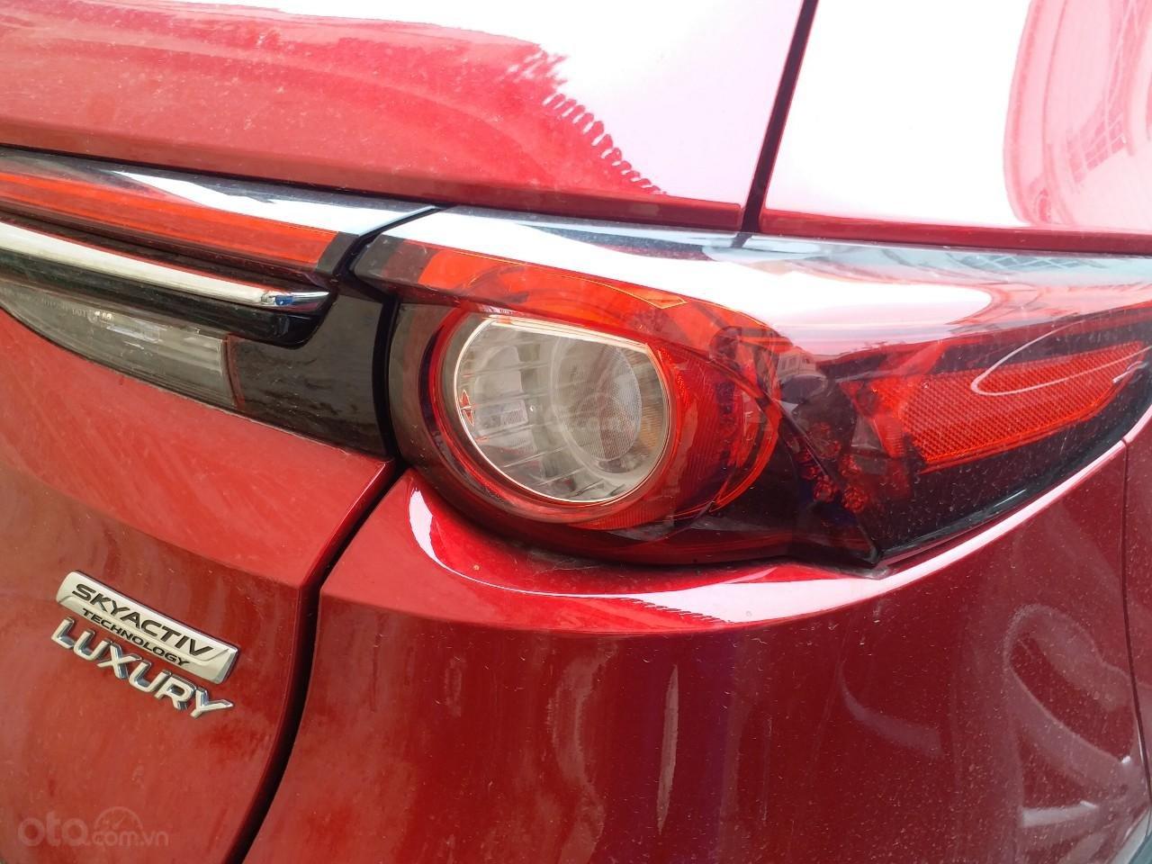 Mazda CX8 2.5 Luxury màu đỏ, sản xuất và đăng ký tháng 09/2019, biển Hà Nội (2)