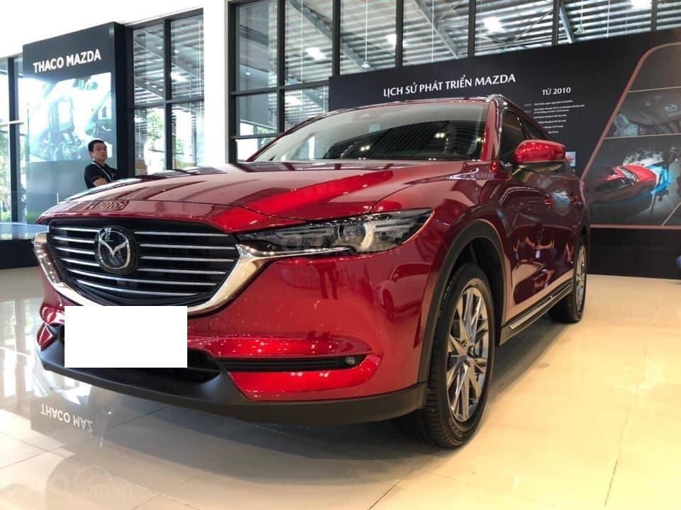 Mazda CX8 2.5 Luxury màu đỏ, sản xuất và đăng ký tháng 09/2019, biển Hà Nội (3)