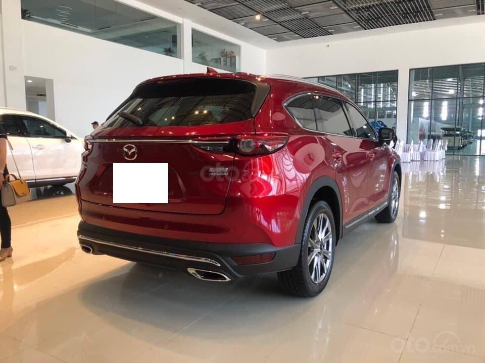 Mazda CX8 2.5 Luxury màu đỏ, sản xuất và đăng ký tháng 09/2019, biển Hà Nội (5)