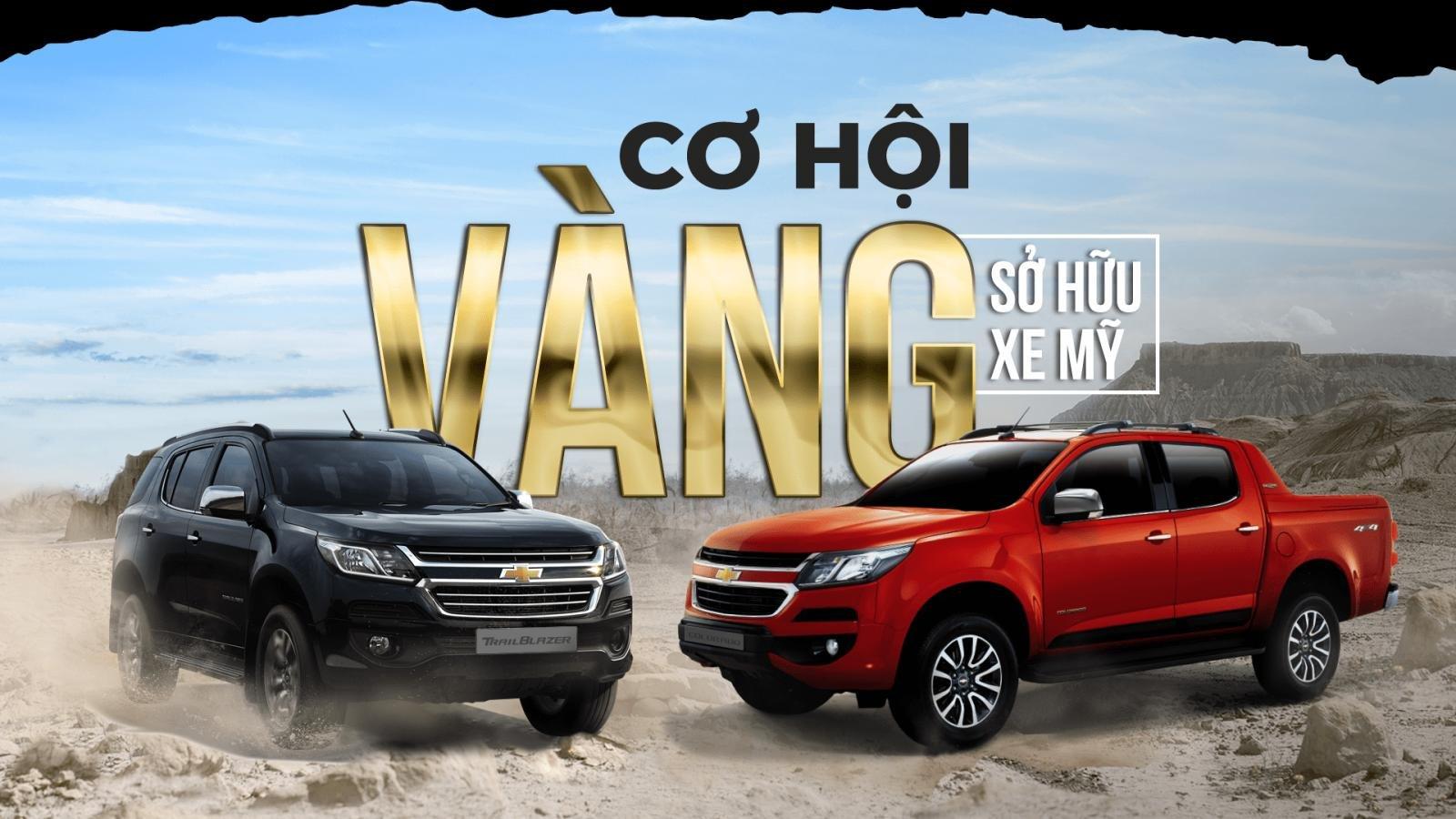 Mua xe Chevrolet trong tháng 10 nhận ưu đãi trị giá lên tới 150 triệu đồng.