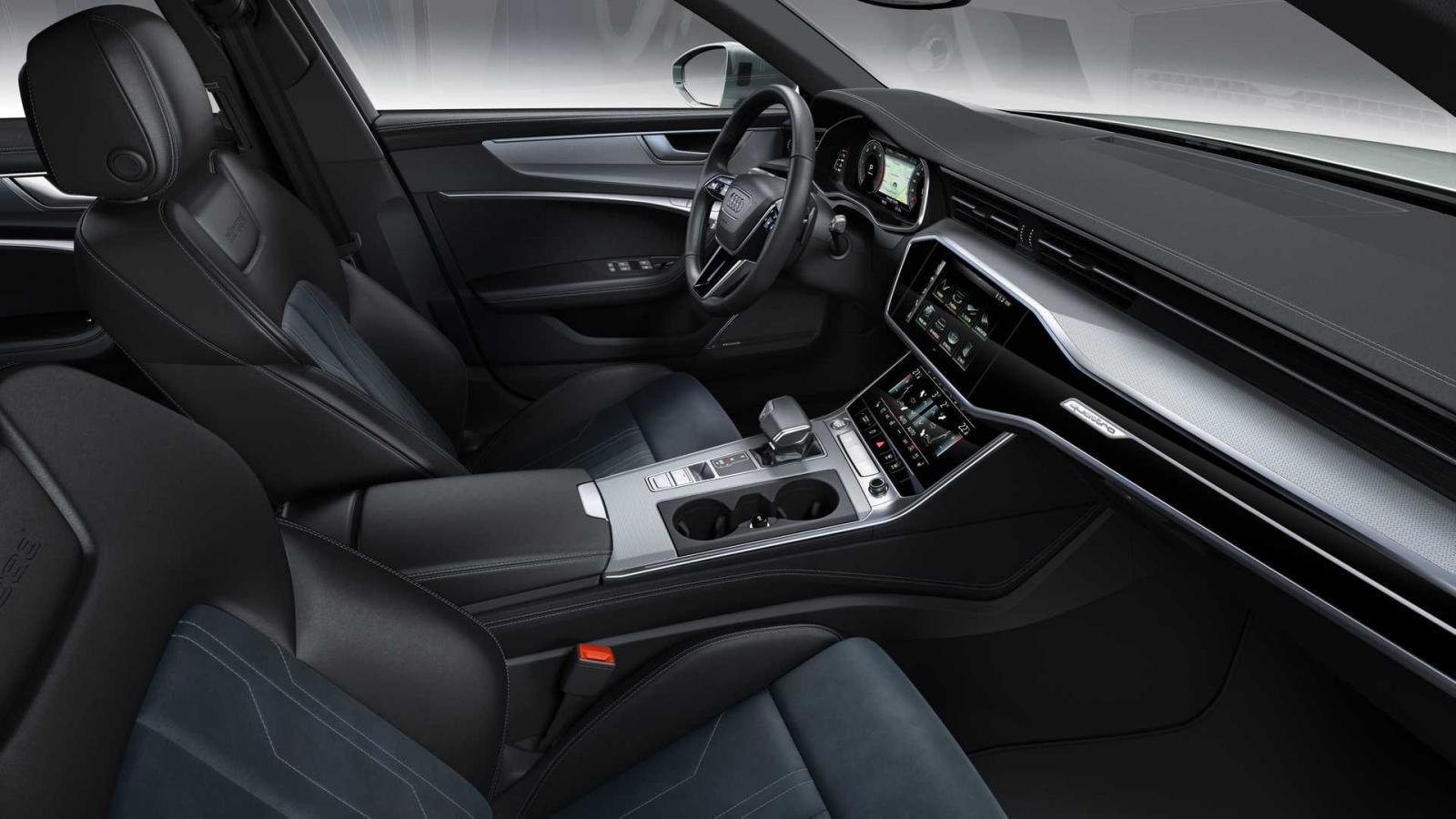 Không gian nội thất Audi A6 Allroad 2020.