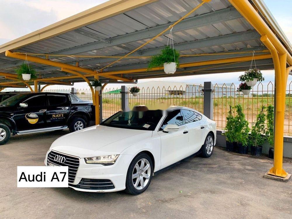 Bán xế hộp Audi A7 3.0 TFSI đời 2016, màu trắng, nhập khẩu (4)