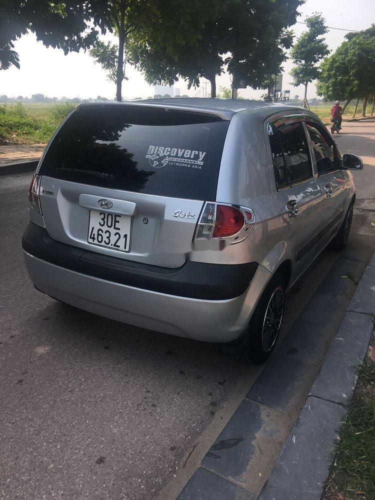 Chính chủ bán Hyundai Getz 2009, màu bạc (2)