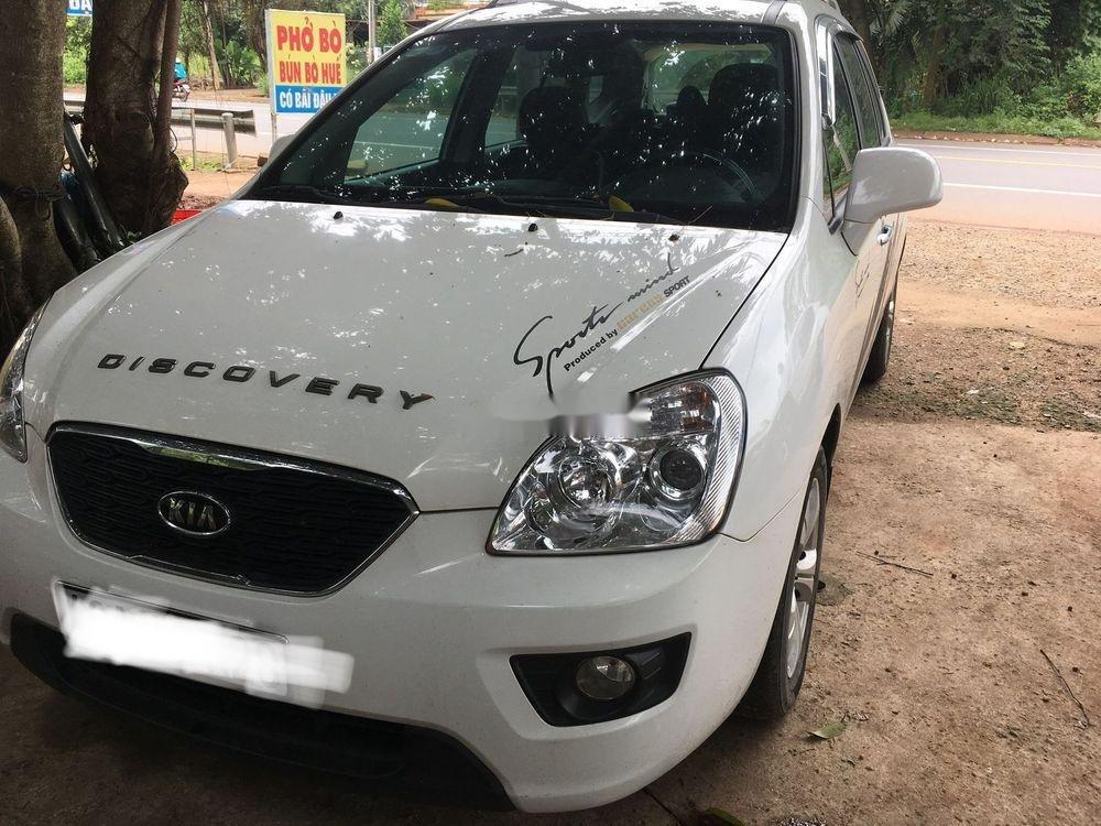 Cần bán xe Kia Carens sản xuất 2015, màu trắng xe gia đình (3)