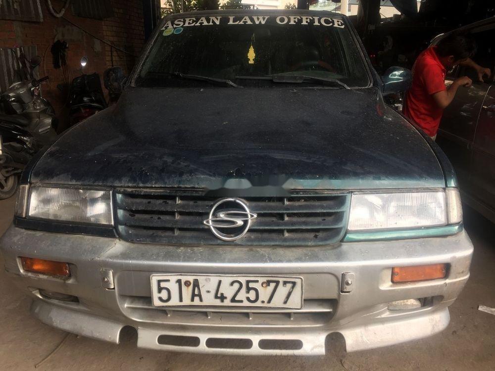 Bán Ssangyong Musso đời 1998, xe nhập, màu xanh lá  (1)