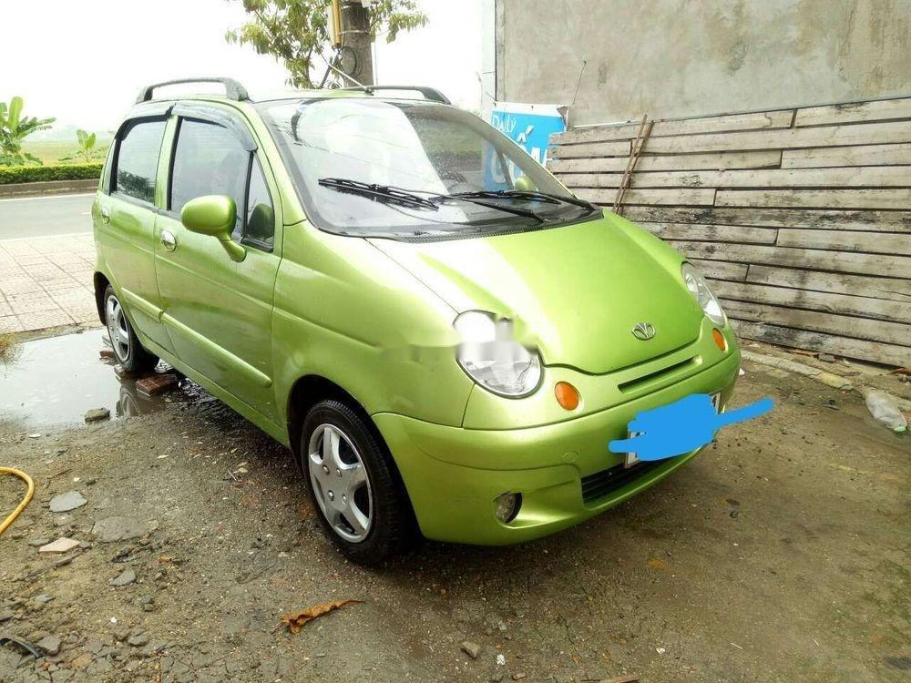 Bán Daewoo Matiz SE sản xuất 2008, màu cốm (1)