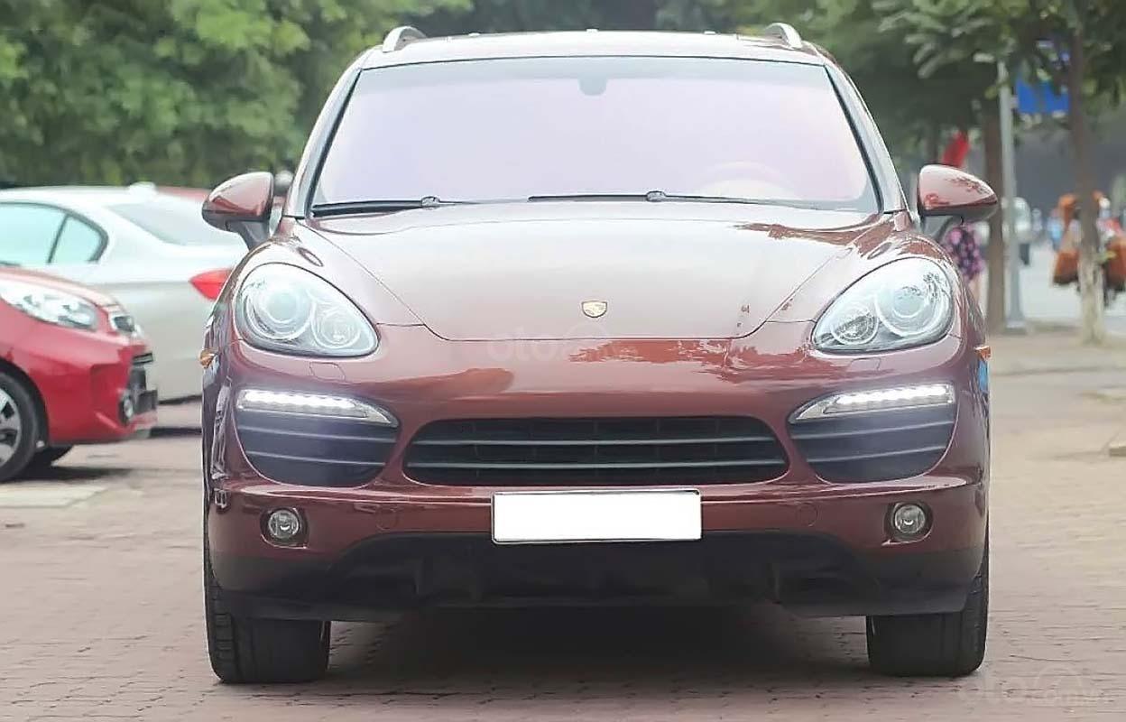 Cần bán lại xe Porsche Cayenne S đời 2010, màu nâu, xe nhập (2)