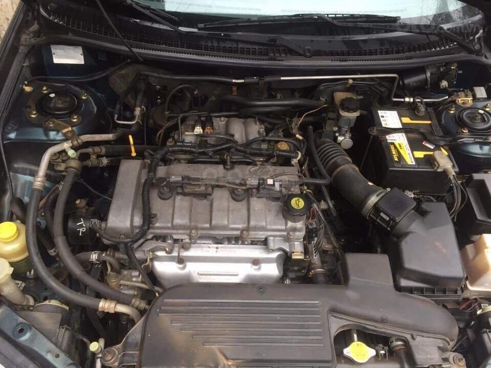 Cần bán xe Ford Laser 2002, số sàn, màu xanh (9)