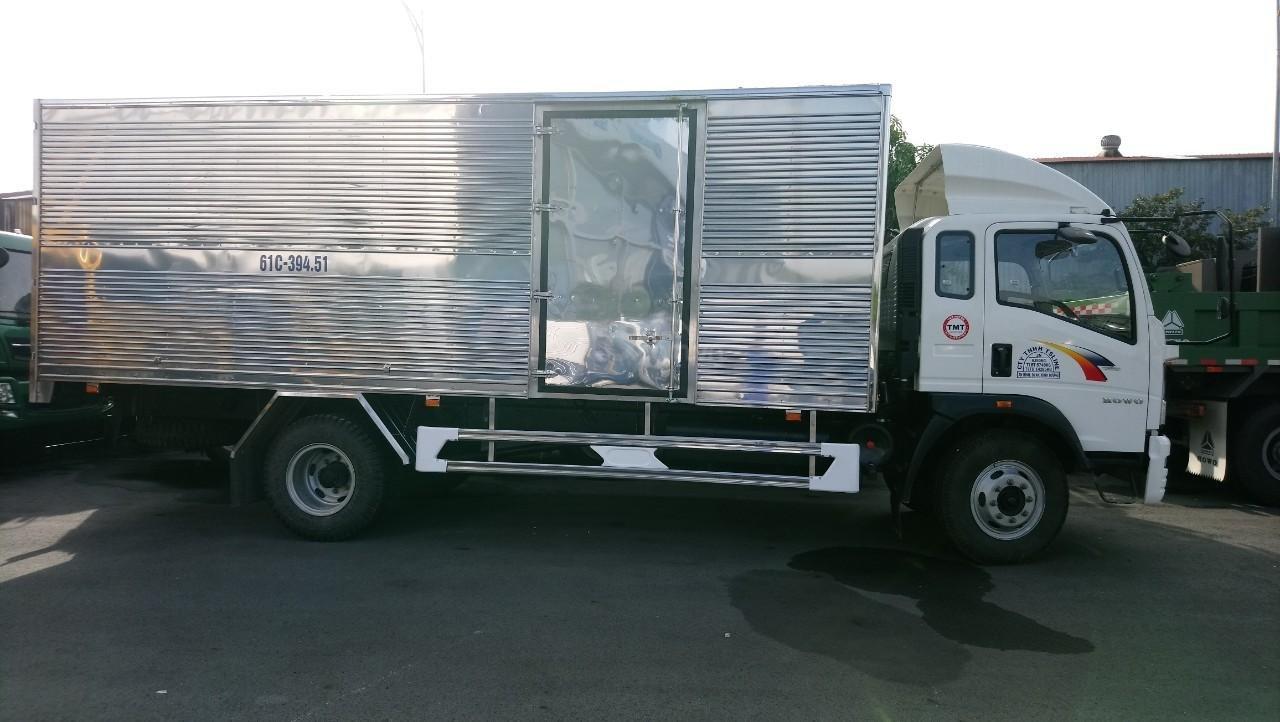 Gía tốt nhất xe tải HOWO 8T5 thùng 6m85 (1)