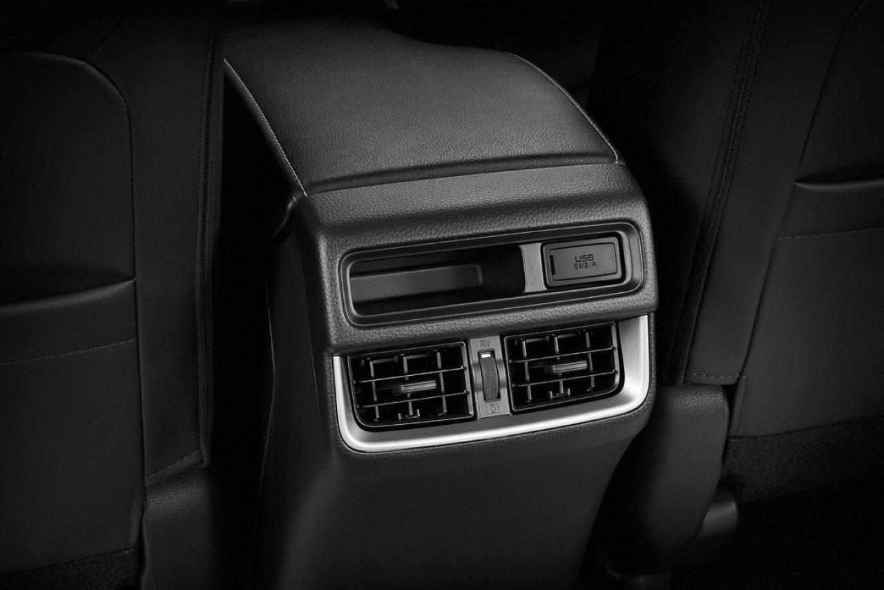 Điều hoà ghế sau của Isuzu D-Max 2020