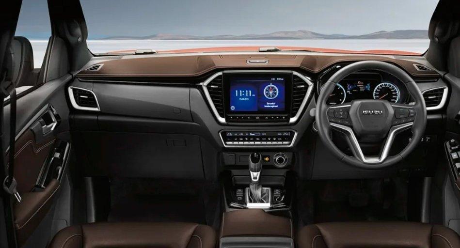 Bảng táp-lô xe Isuzu D-Max 2020