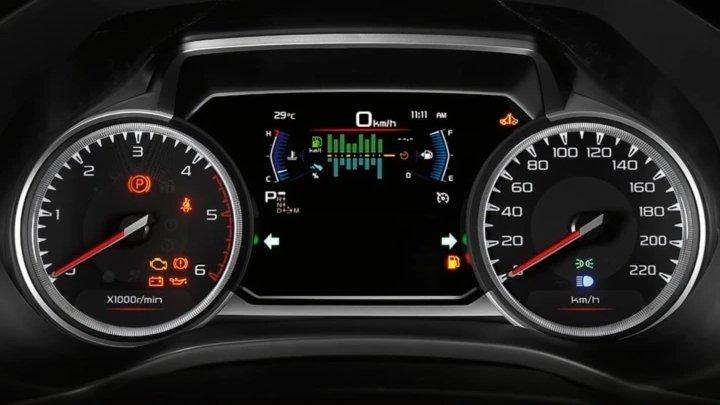 Đồng hồ lái của Isuzu D-Max 2020