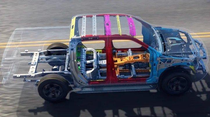 Hệ thống khung gầm của Isuzu D-Max 2020